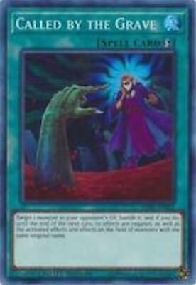 Yugioh Called by the Grave - EXFO-ENSE2 - Super Rare - NM 3 AVAILABLE