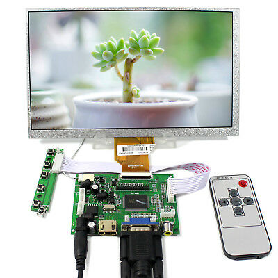 LCD Controller board with HDMI VGA 2AV 9inch 800x480 LCD panel AT090TN10