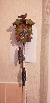 A small cuckoo clock in good working order