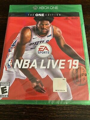 NBA Live 19 (Xbox One, 2018) FACTORY SEALED!