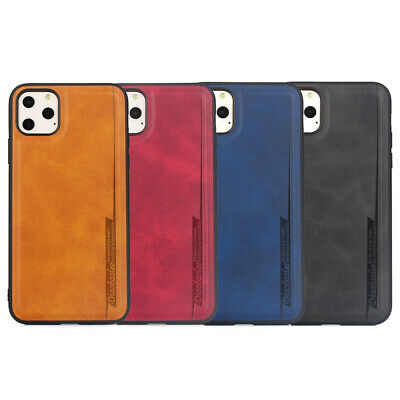 Luxury Leather Slim Soft Back Case Cover for iPhone 7 8 X 11 Pro XS Max XR 2019
