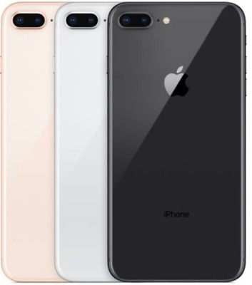 Apple iPhone 8 Plus 64GB Gray/Gold Unlocked 5.5'' screen 4G LTE iOS Smartphone y