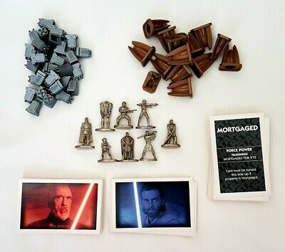 Monopoly Star Trek The Next Generation Metal Playing Pieces Tokens Replacement