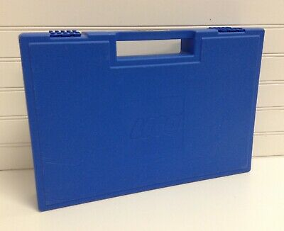 "1989 Vintage Blue 15""x10"" Lego Storage Container"