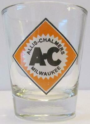 Very Nice Allis Chalmers 1 1/2 oz Shot Glass