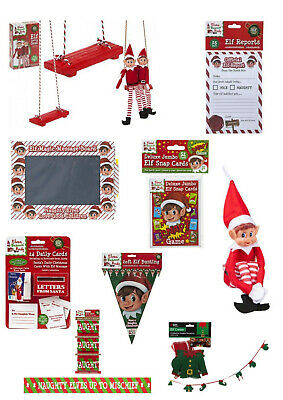 Elves Behaving Badly Naughty Elf Christmas Accessories Props To Put On The Shelf