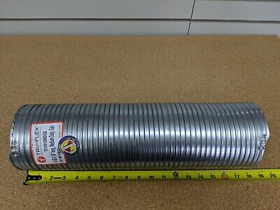 """5"""" Exhaust Flexible Pipe PDC # TF50018MDGS Flex Tubing 18"""" long Med. Duty, Galv."""