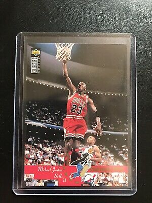 Michael Jordan 1995-96 Upper Deck Collector's Choice Professor Dunk #195