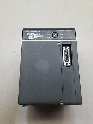 Texas Instruments 435 Central Processing Unit