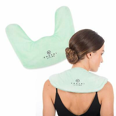 Microwavable Heating Pad for Neck and Shoulders - Natural Pain & Stress Relief