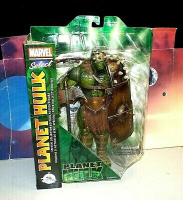 Marvel Select Disney Store Exclusive Planet Hulk Action Figure (2017, Rare, New)