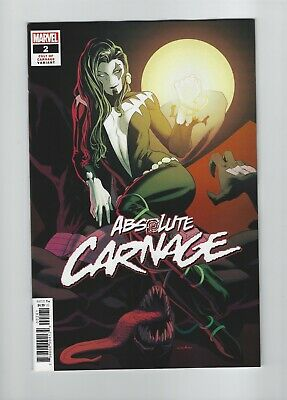 ABSOLUTE CARNAGE #2 1:25 KRIS ANKA Cult of Carnage Variant Cover