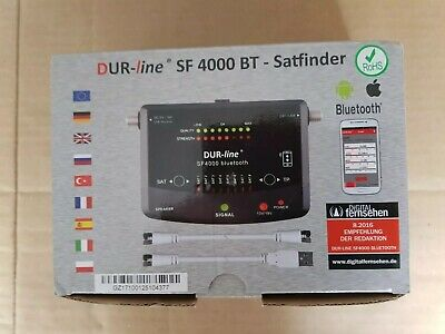Dur-Line Sf 4000 BT Sat Gauge Bluetooth App 8 Pre-programmed Satellite