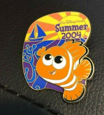 disney trading pin limited edition finding nemo summer 2004 walt world vintage