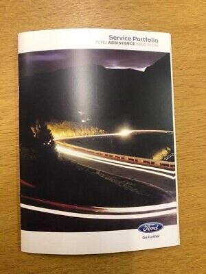 Ford Service Book New Genuine Covers All Models Galaxy/S-max/Fiesta/Mondeo****