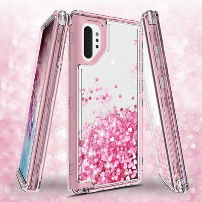 Samsung Galaxy Note 10 | Note 10 Plus Case Heavy Duty Liquid Glitter Bling Cover