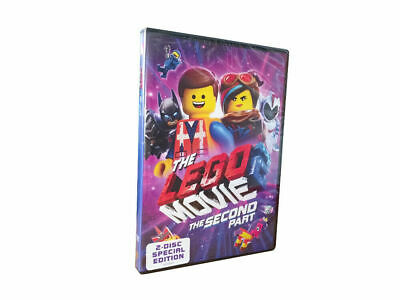 The Lego Movie 2: Second Part - DVD 2019 New & Sealed Free Shipping Included
