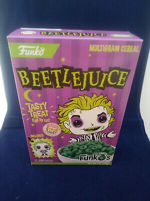 SEALED Funko Pop Cereal Beetlejuice Box with Pocket POP Box Lunch Exclusive