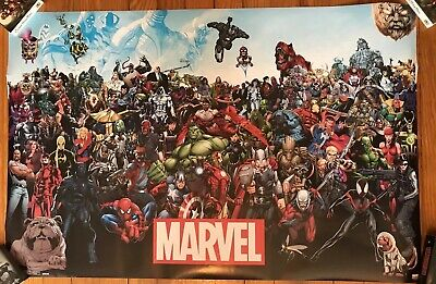 """Marvel Trends POSTER 22"""" X 34"""" THE LINEUP 14133"""