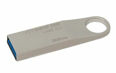 Kingston DataTraveler SE9 G2 32GB USB 3.0 Flash Stick Pen Memory Drive