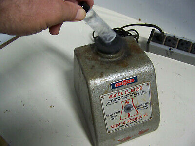 Collector Alert   Working Vortex Jr. Mixer Genie  Scientific Industries K-500-J