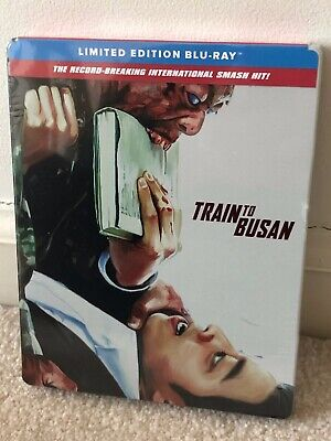 Train To Busan Blu-ray 2018 Limited Edition Steelbook Factory Sealed Brand NEW
