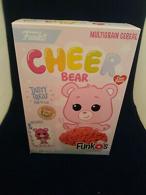 SEALED Funko Pop Care Bear Cheer Bear Cereal with Pocket POP Box Lunch Exclusive