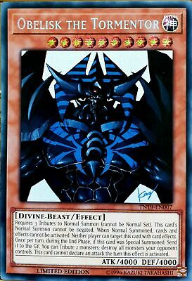 Obelisk the Tormentor - TN19-EN007 - Prismatic Secret Rare - NM Yugioh