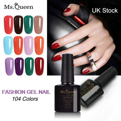 Ms. Queen 10ml Soak off Gel Nail Polish need Top and Base coat Nail Manicure