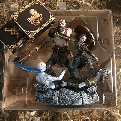 God of War Stone Mason's Collector's Edition Statue/Extras Kratos and Atreus
