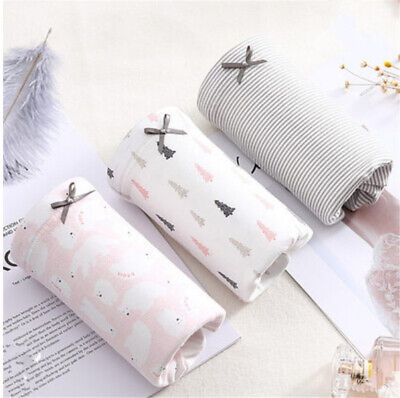 Womens 3 Pack Soft Cotton Maternity & Nursing Panties/Underwear for Pregnant
