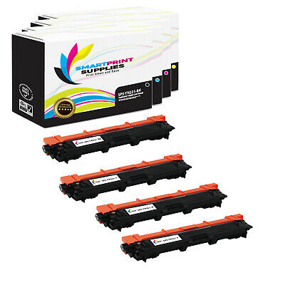 4Pk SPS TN221 Compatible Brother MFC-9130cw 9340cdw 9330cdw HL-3140cw Toner