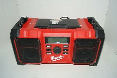 FOR PARTS NOT WORKING Milwaukee 2890-20 18V Dual Chemistry M18 Jobsite Radio