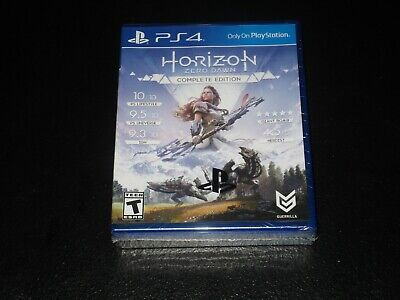 Horizon: Zero Dawn Complete With Limited Edition Steelbook PlayStation 4 Sealed