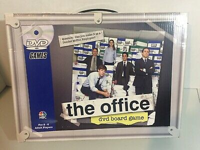 The Office DVD Board Game 2008 - Open Box New Condition - Sealed DVD - Complete