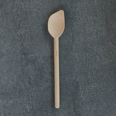 Wooden spoon, flat bottomed