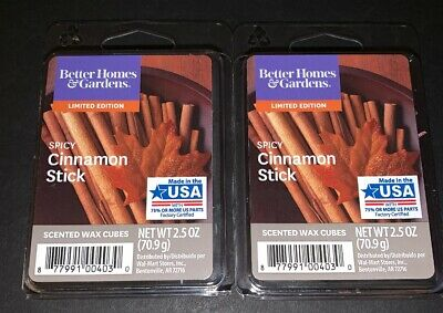 5 of Each ScentSationals ILLUSION Better Homes /& Gardens Spicy Cinnamon Stick