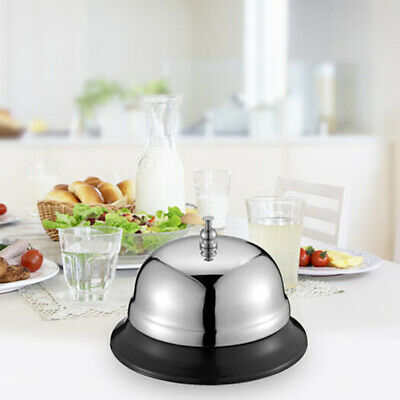 Restaurant Desk Bell Ring Kitchen Bar Service Call Hotel Counter Metal Reception
