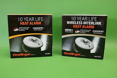 FireAngel Heat Alarm HT-630T / Wireless Interlink Heat Alarm WHT-630T Exp 2026