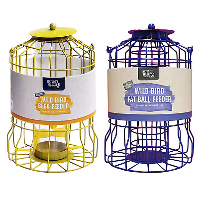 Squirrel guard SEED & / or FAT BALL feeder Combination discounted deals