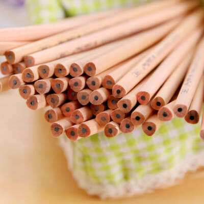 50pc HB Pencil Redwood Lead Writing Working Sketch Drawing Pencils School Office