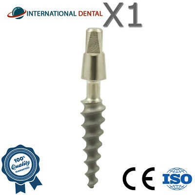 Narrow Dental One Piece Titanium Implant Sterile SLA Combined With Hex