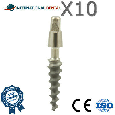 10 Narrow Dental One Piece Titanium Implant Sterile SLA Combined With Hex