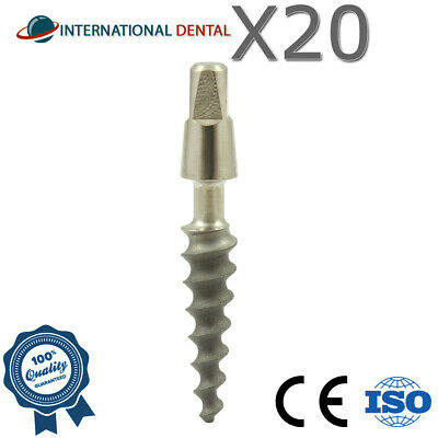20 Narrow Dental One Piece Titanium Implant Sterile SLA Combined With Hex