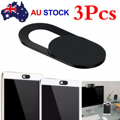 3x Webcam Slider Camera Cover Protect Privacy Phone Tablet Laptop 0.28mm Thin T