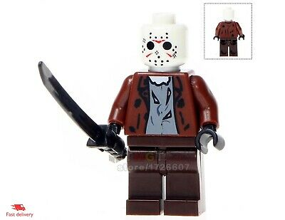 8Pcs Horror Theme Jason Scream Killer Freddy krueger lego Children toys kids