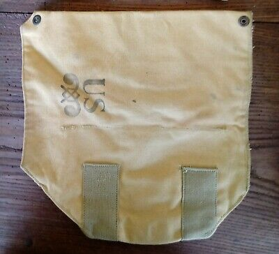 Ww2 Us Army Borsa Maschera Antigas - Originale- Mask Bag