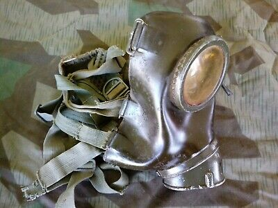 WWII maschera antigas tedesca Gas Mask German M38 ORIGINAL