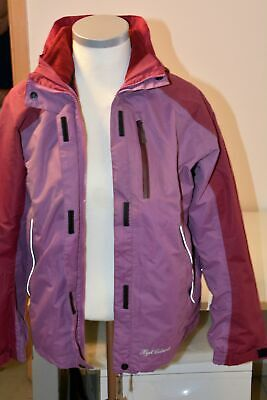 High Colorado Advance Outdoor Jacke lila-bordeauxrot Gr.152