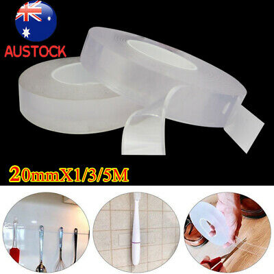 New Double-sided Grip Tape Traceless Washable Adhesive Tape Nano Invisible Gel